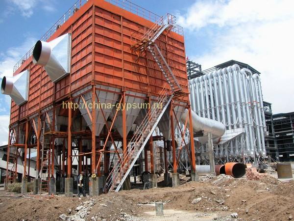 Завод по производству гипса